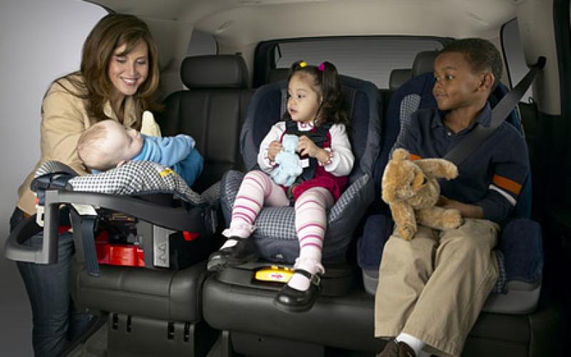 Со скольки и до скольки лет необходимо детское кресло в автомобиль?