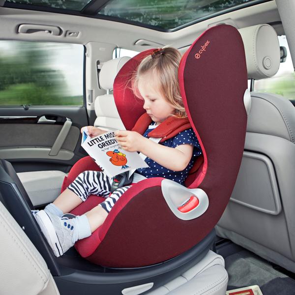 Перевозка ребенка в автокресле