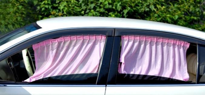 Какой штраф грозит за использование шторок на передних стеклах авто?