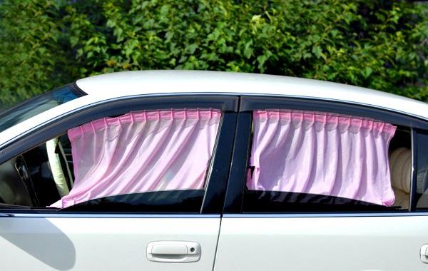 Шторки на окна. Авто штраф