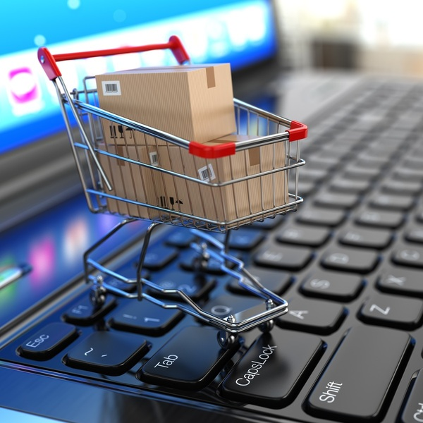 Тележка с покупками